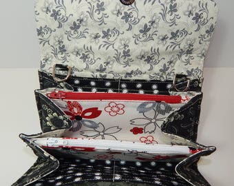 Handmade Necessary Clutch Wallet (NCW) with multiple interior pockets and card slots.