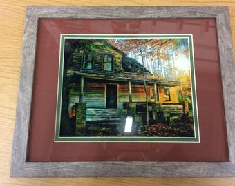 Rustic Autumn (Rustic Abandon Series): Individually numbered artist's print. Matted & framed original photography by PatriciaDawnDesigns