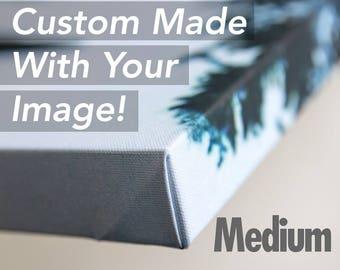 Medium Custom Canvas Gallery Wrap Cell Phone Wall Art Hanging Decor Samsung Galaxy S8+ Plus