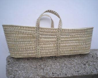 Moses Basket Palm leaf Moses Basket Baby Moses Basket