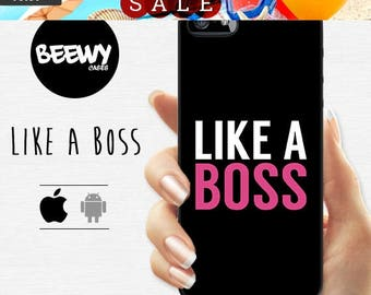 French Sales!!! like a boss galaxy s7 Case Samsung Galaxy A7 A5 A3 Case, iPhone 6 plus 5s 5c 4s Case, Galaxy S6 S5 S4 S3 S2 Case, HTC One