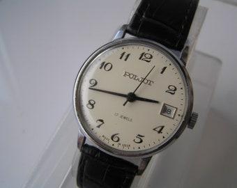 ussr wrist watch Russian watch POLJOT 17 jewels - Serviced