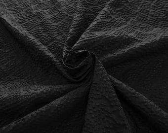 990111-202 JACQUARD-Se 36%, Ce 32%, Pl 21%, Pa 11%, Width 135 cm, made in Italy dry cleaning weight 215 gr