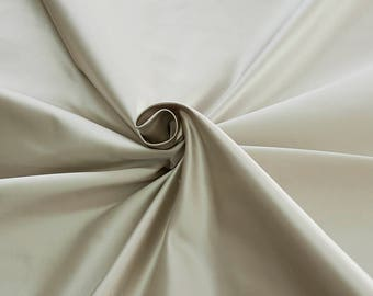 876011-Satin Natural silk 100%, width 135/140 cm, made in Italy, dry cleaning, weight 190 gr