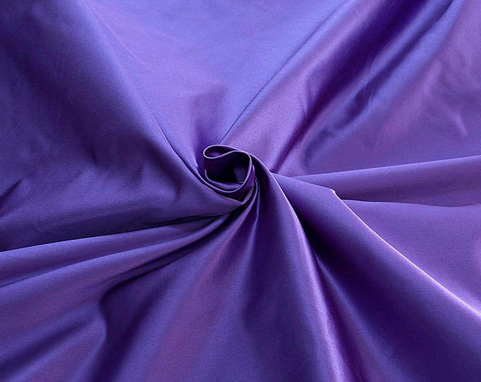 876217-Satin Natural silk 100%, width 135/140 cm, made in Italy, dry cleaning, weight 190 gr
