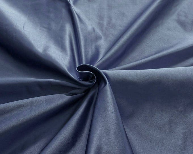 876151-Satin Natural silk 100%, width 135/140 cm, made in Italy, dry cleaning, weight 190 gr