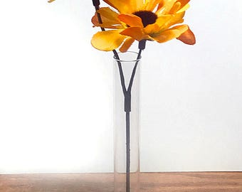 3D printed Pyramid Test Tube Vase