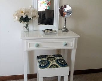 The Sweet Tempered Makeup Table