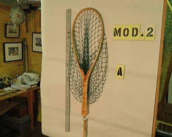 The Madison River, A Handmade Wooden Landing Net