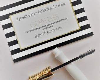 BOXING DAY SALE! eyelash and brow growth serum / night treatment / lengthen, strengthen & boost lashes naturally