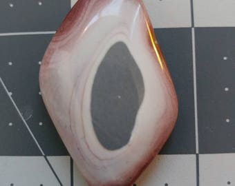 Hickoryite palmstone/cabochan/polished gemstone