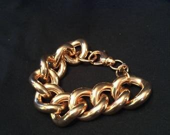 Bronze Milar Italy Bracelets - Set of 5  (see all 5 photos)