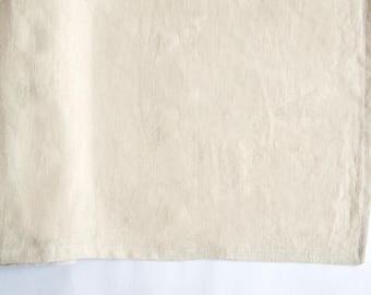 Table runner 40x150cm, handmade, 100% hemp
