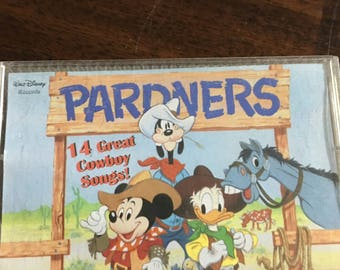 Pardners Disney Cassette Tape 14 Great Cowboys Songs