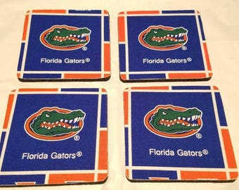 Florida Gators 4 Pack Coster set
