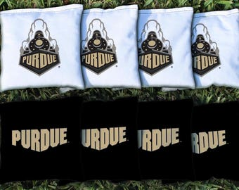 Purdue Boilermakers Cornhole Bag Set