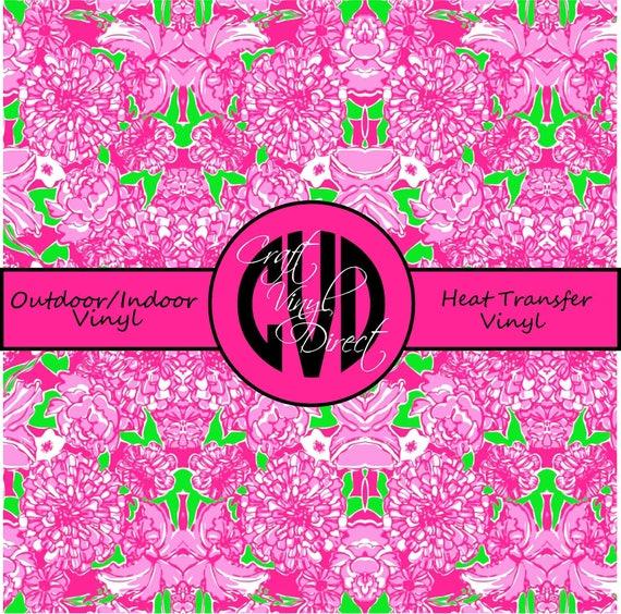 Beautiful Patterned Vinyl // Patterned / Printed Vinyl // Outdoor and Heat Transfer Vinyl // Pattern 690