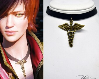 Shani necklace - The Witcher inspired | Cosplay Jewellery | The Witcher Medallion | Cosplay | Witcher Necklace | Shani cosplay