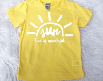 Sun Kind of Wonderful - Kids Tee