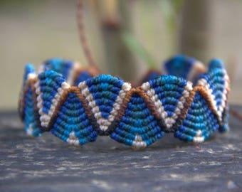 Bracelet macramé mixed