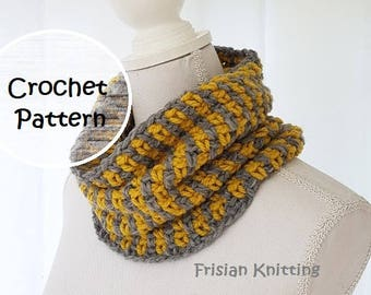 Crochet pattern cowl //scarf // pattern crochet shawl  // cowl scarf pattern