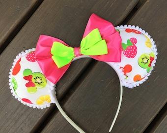 Minnie Mouse Ears Fruit