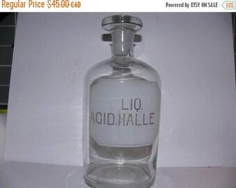 ON SALE Vintage Bottle