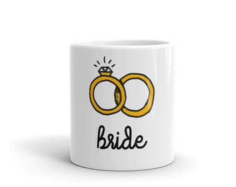 Bride Wedding Gift Mug