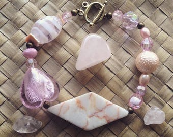 Rose Quartz Baby Bracelet