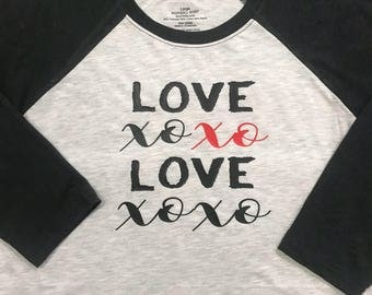 Valentine's Day T-Shirt | Love T-Shirt | Custom T-Shirt | Valentine's Day Gift