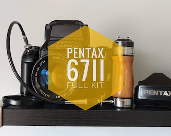 PENTAX 67II w/ 105mm f2.4 + More! - EXCELLENT Condition | FREE Shipping