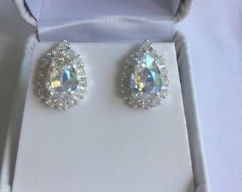 Swarovski Crystals Earrings.