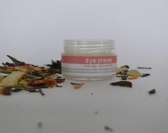 Eye Cream Anti-aging, Anti - wrinkle, Against Dark Circles, Puffiness, Antioxidant, Firming, Moisturizer by MyrtilloCosmetics