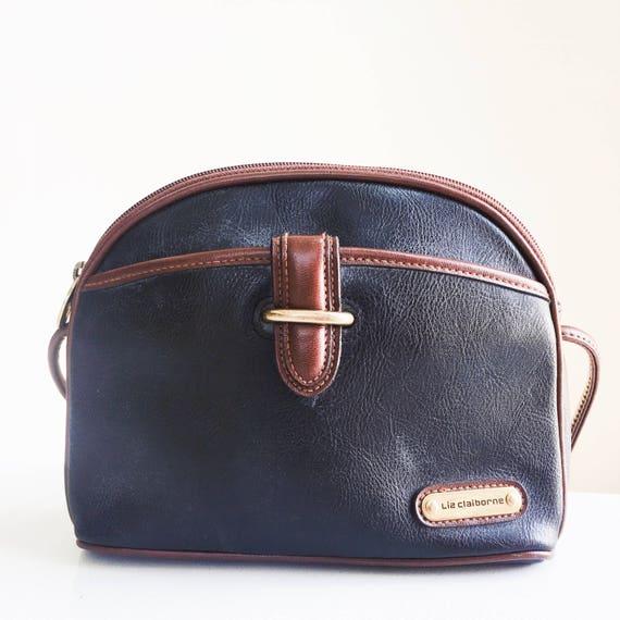 1994 Liz Claiborne Leather Crossbody Bag