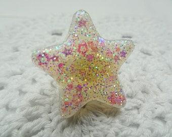 Sparkly Confetti Star Ring