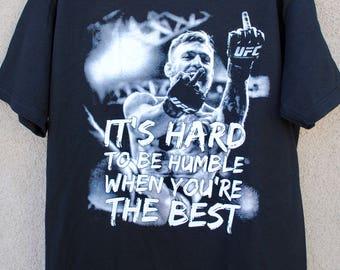 Conor McGregor T shirt Mens The Best Tee ufc