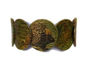 Bracelet African, ethnic bracelet, bracelet beads, travel bracelet, bracelet, stretch bracelet