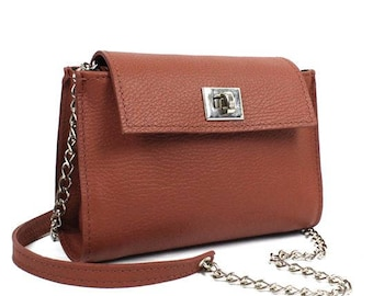 Womens crossbody bag, small leather bag, small shoulder bag, mini cross body bag, leather handbag, vintage leather bag, handmade leather bag