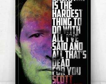 Scott Weiland Poster - Illustration [Scott Weiland Poster / Scott Weiland / Stone Temple Pilots]