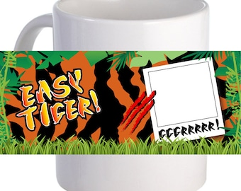 Easy Tiger Coffee Mug Personalized With Name, Image Or Message