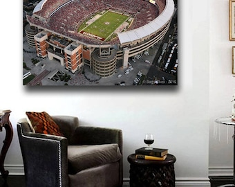 Alabama Football Stadium Canvas Print Large 30 x 20 Bryant–Denny Stadium