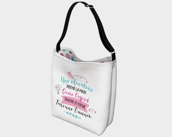 """""""Sweet Fox"""" shoulder bag for teacher"""