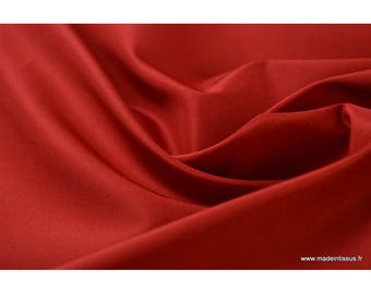 Taffetas changeant polyester rouge rouge