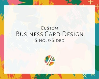 Business Card Design, Single-sided, Small Business, Business, Logo, Branding Kit, Business Identity, Stationery, Business Cards, Custom