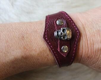 Skull bracelet. skull bracelet. Gothic bracelet