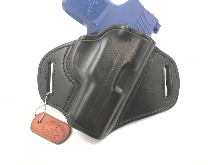 SIG p320 Sub-Compact - Handcrafted Leather Pistol Holster