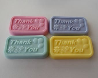 Thank you Soaps,Party favors,Soap Samples,Hostess Gift,Guest Soaps