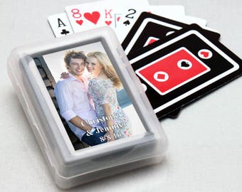 12pcs Picture Perfect Personalized Playing Cards -JMFC67048