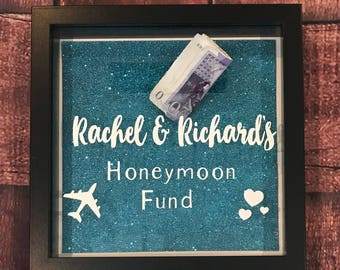 Honeymoon /Wedding Fund Money box frame