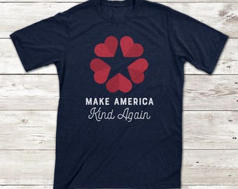 Make America Kind Again Protest T-shirt